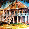 An Old Louisiana Planters House by Diane Millsap