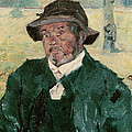 An Old Man, Celeyran, 1882 Oil On Canvas by Henri de Toulouse-Lautrec