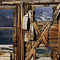 An Old Miners Shack With A View by Gordon Wiltsie