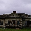 An Old Montana School House by Jeff Swan