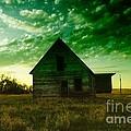 An Old North Dakota Farm House by Jeff Swan
