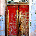 An Old Red Door by Phyllis Denton