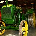 An Old Restored John Deere by Jeff Swan