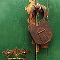 An Old Rusty Lock by Xueling Zou