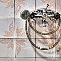 An Old Shower by Sinisa Botas
