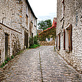 An Old Village Street by Olivier Le Queinec