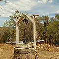 An Old Well In Lincoln City New Mexico by Jeff Swan