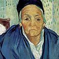An Old Woman Of Arles by Vincent van Gogh