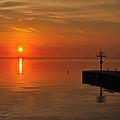 An Orange Sunrise by Jose Sandoval