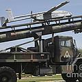 An Rq-2b Pioneer  Uav On An M927 by Timm Ziegenthaler