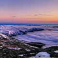 An Undercast Sunset Panorama by Chris Whiton