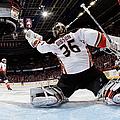 Anaheim Ducks V Calgary Flames by Gerry Thomas