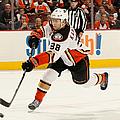 Anaheim Ducks V Philadelphia Flyers by Elsa