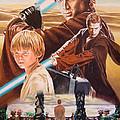 Anakin Skywaler Tatooine by Joseph Christensen