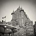 Analog Photography - Chateau Frontenac Quebec by Alexander Voss