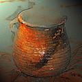 Anasazi Cooking Pot by David Lee Thompson