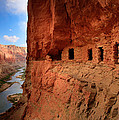 Anasazi Granaries by Inge Johnsson