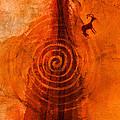 Anasazi Spirals  by David Lee Thompson