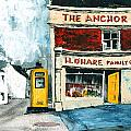 Anchor Bar  Carlingford  Louth by Val Byrne