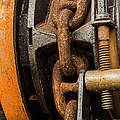 Anchor Chain - Tall Ship Elissa by Allen Sheffield