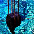 Anchor In Santorini Island Greece  by Colette V Hera  Guggenheim