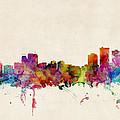 Anchorage Skyline by Michael Tompsett