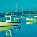 Anchored In Maine by Gary Slawsky