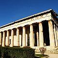Ancient Agora Temple Of Hephaestus 3 by M Brandl