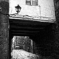 Ancient Alley In Tui Bw by RicardMN Photography