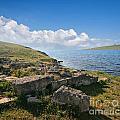 Ancient Archaeological Site On The Coast Of Crimea Ukraine by Sophie McAulay