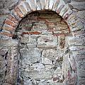 Ancient Bricked Up Window  by Antony McAulay