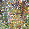 Ancient Christ Icon by Neil Overy