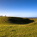 Ancient Hill Of Tara In The Winter Sun by Mark Tisdale