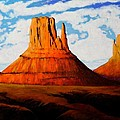 Ancient Land Monument Valley by Joe  Triano