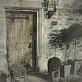 Ancient Medieval Door by John Colley