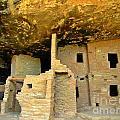 Ancient Pueblo Dwelling Ruins by John Malone