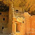 Ancient Pueblo Dwelling Ruins Two by John Malone