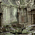 Ancient Ruins Cambodia by Bob Christopher