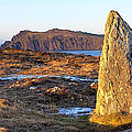 Ancient Standing Stones In County Kerry Ireland by Mark E Tisdale