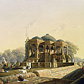 Ancient Temple At Hulwud, From Volume I by Captain Robert M. Grindlay