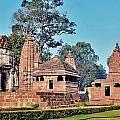 Ancient Temple Complex  - Amarkantak India by Kim Bemis