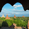 Ancient Temples And Pagodas, Bagan by Keren Su