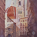 And Suddenly The Duomo by Jenny Armitage