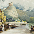 Andely, From Views On The Seine by John Gendall