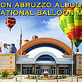 Anderson Abruzzo Albuquerque International Balloon Museum Poster by Brian King