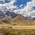 Andes Mountains - Peru by Christian Tuk