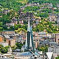 Andorra La Vella City by Gurgen Bakhshetsyan