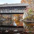 Andover Covered Bridge by Edward Fielding