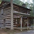 Andrew Logan Log Cabin Ninety Six National Historic Site by Jason O Watson