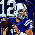 Andrew Luck by Chris Eckley
